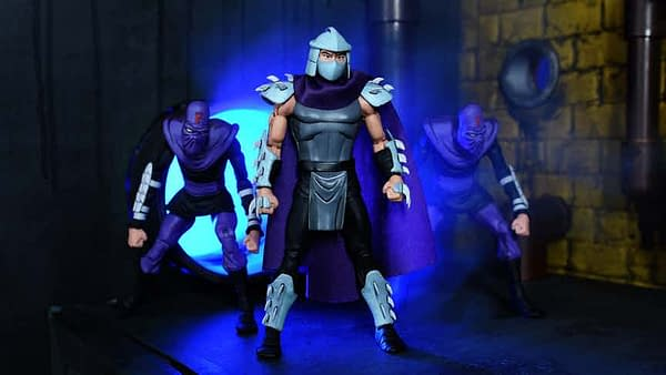 Shredder and Foot Soldiers SDCC Exclusive