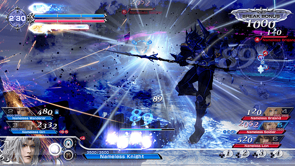 Button Mashing And Lens Flare: Hands On With Dissidia Final Fantasy NT At E3