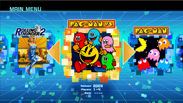 'Namco Museum' Is Getting 'Pac-Man Vs.' For The Switch