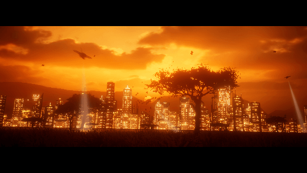 Examining The Art Behind 'The Last Night' At E3