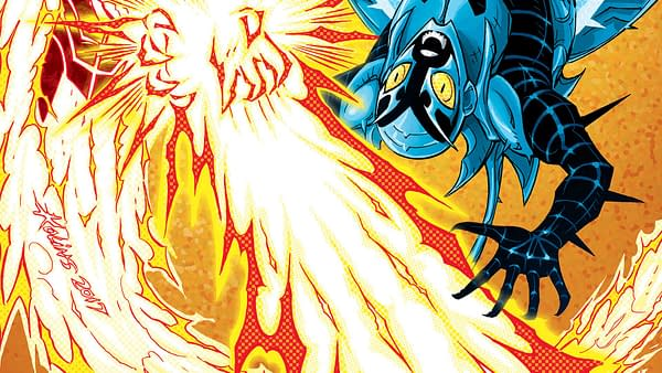 Blue Beetle #11 Review: Some Decent Moments, But Essentially 22 Pages Of Text Walls