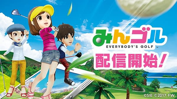 PlayStation's First Mobile Game, Everybody's Golf, Has Gone Live In Japan