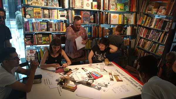 Taking Pride In Small Press Day In London, Yesterday