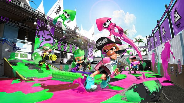 Nintendo will be Focusing on Arms and Splatoon 2 at GDC 2018