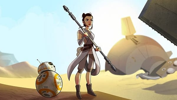 Watch The First Installment In Star Wars: Forces Of Destiny, Sands of Jakku