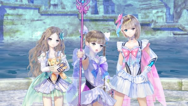 Koei Tecmo Debut A New Trailer For 'Blue Reflection'