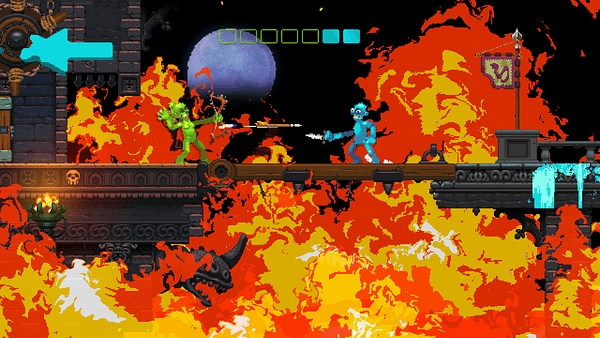 A Rainbow Of Viscera: We Review 'Nidhogg 2'