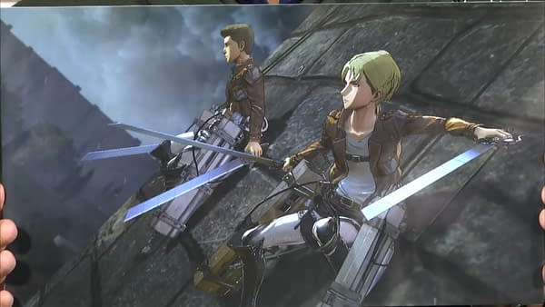 Koei Tecmo Confirms 'Attack On Titan 2' For Multiple Systems
