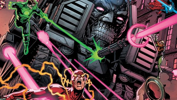Cover to Batman: The Murder Machine by Jay Fabok and Brad Anderson