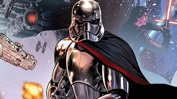 Captain Phasma Cover Art by Paul Renaud