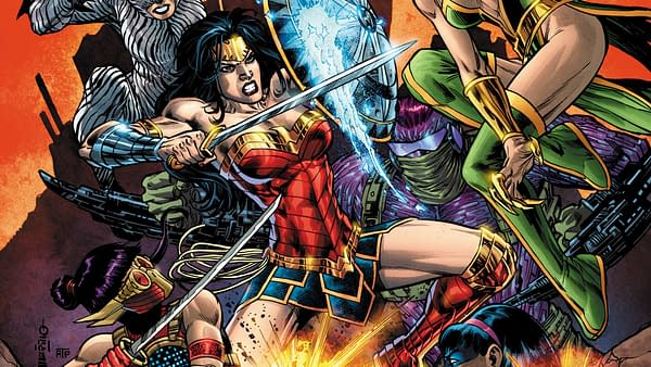 Cover Art of Wonder Woman #29