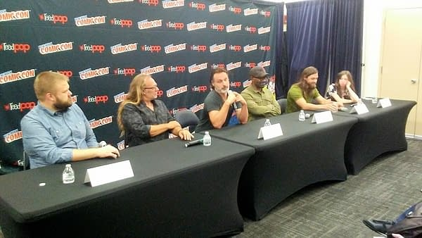 Andrew Lincoln Wants Rick's Hand Chopped Off, And More From NYCC 2017