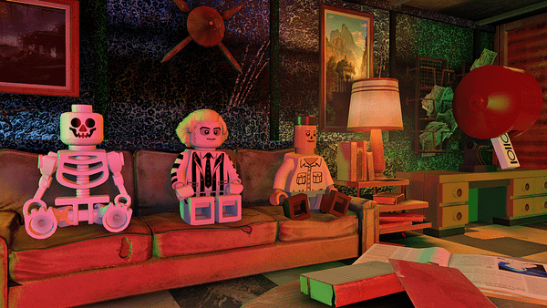 A Quick Romp Through 'LEGO Dimensions' With Beetlejuice