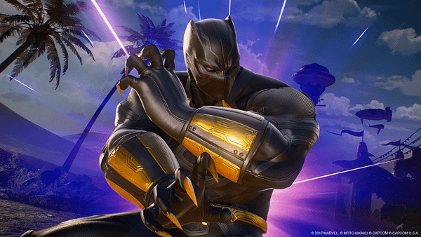 Trying Out Black Panther In 'Marvel vs. Capcom: Infinite' During NYCC 2017