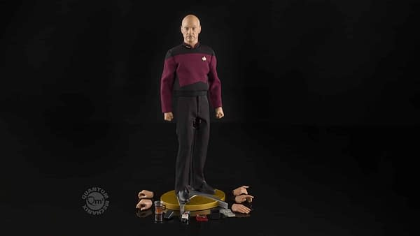 Picard Gets His Due With New Figure From QMx