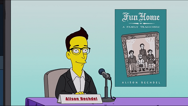 When Alison Bechdel, Marjane Satrapi And Roz Chast Appeared On The Simpsons