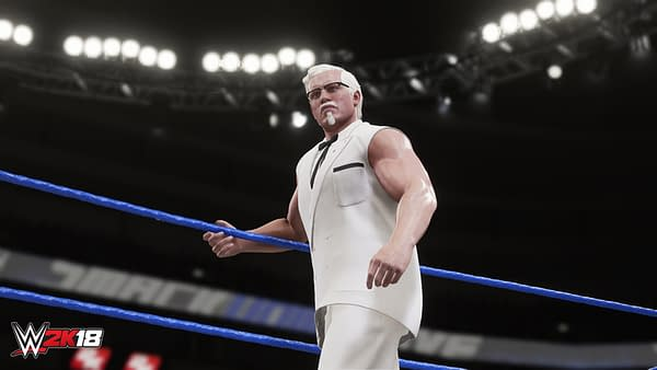 Worst Product Placement Ever: KFC's Colonel Sanders Joins 'WWE 2K18'
