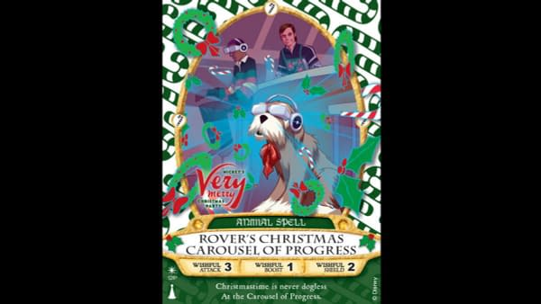 Carousel Of Progress Gets Its Own Sorcerers Of The Magic Card For The Holidays