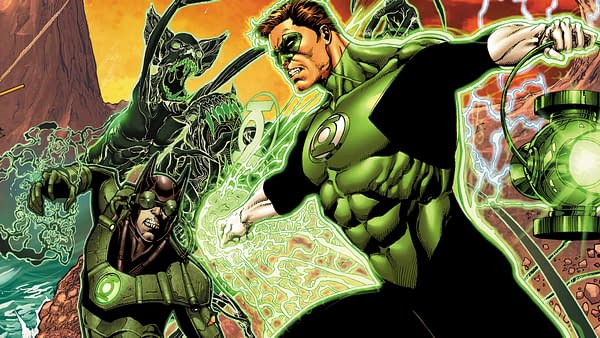 Hal Jordan and the Green Lantern Corps #32 cover by Ethan van Sciver and Jason Wright