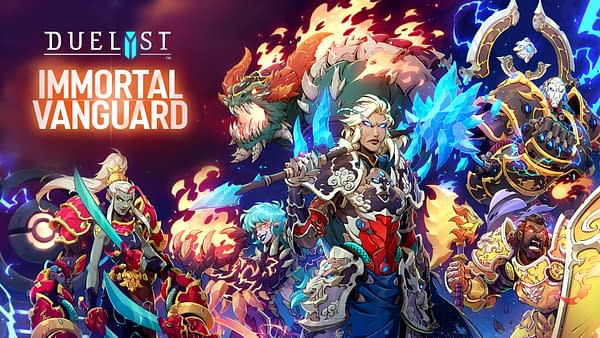 """Bandai Namco Release The """"Immortal Vanguard"""" Expansion For 'Duelyst'"""