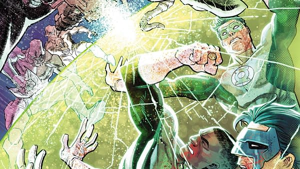 Hal Jordan and the Green Lantern Corps #35 cover by Francis Manapul