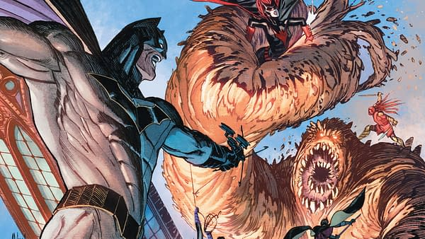 Detective Comics #973 cover by Guillem March adn Tomeu Morey