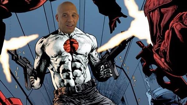 Report: Vin Diesel in Talks to Play Bloodshot in Valiant Movie Universe