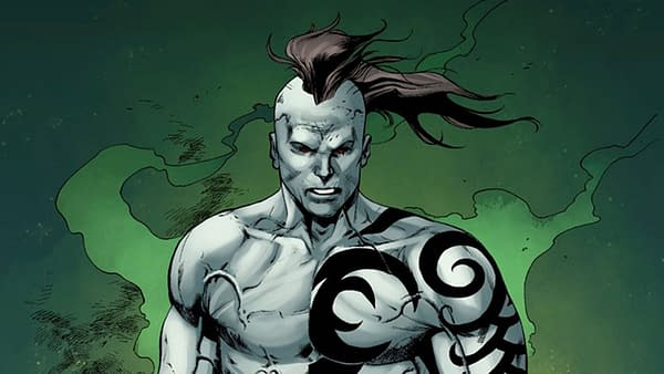 Iceman #9 art by Robert Gill, Ed Tadeo, and Rachelle Rosenberg