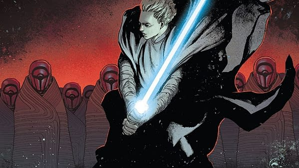 Star Wars #41 cover by David Marquez and Matthew Wilson