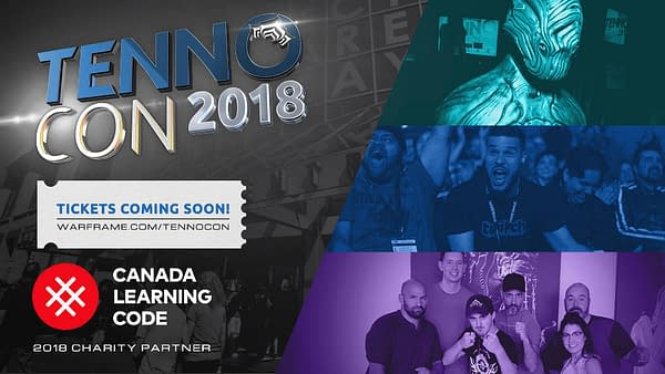 Warframe's Tennocon 2018 Will Be Returning to London, Ontario this July