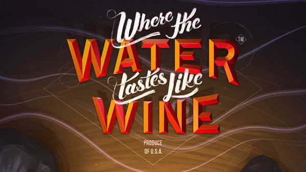 Where the Water Tastes Like Wine logo