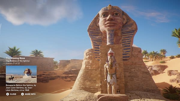 Ubisoft Censors Nude Statues in Assassin's Creed: Origins' Discovery Tour