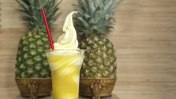 epcot pineapple soft serve