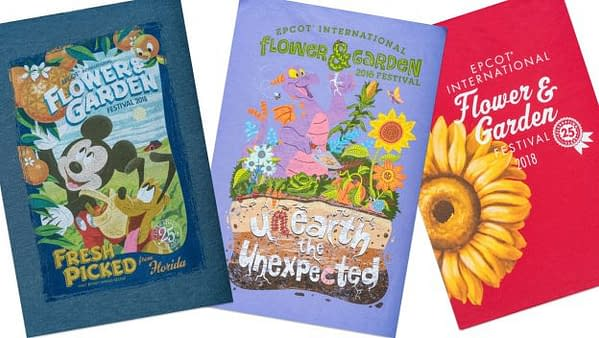 New Merchandise for This Year's Flower and Garden Festival at Epcot!