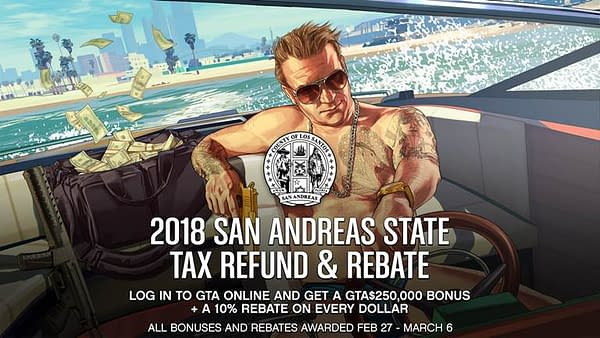 Tax Rebate Season has Come to Grand Theft Auto Online