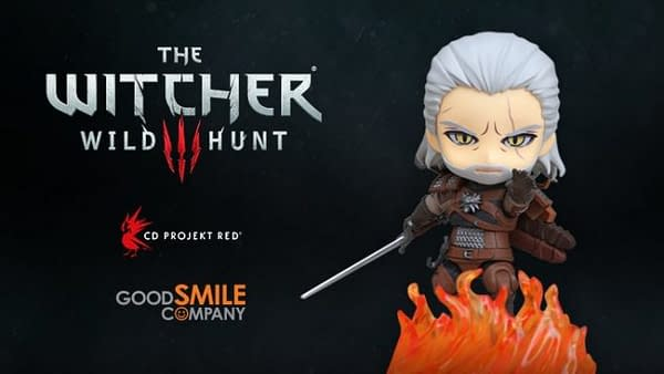 The Witcher III's Geralt of Rivia is Getting His Own Nendoroid