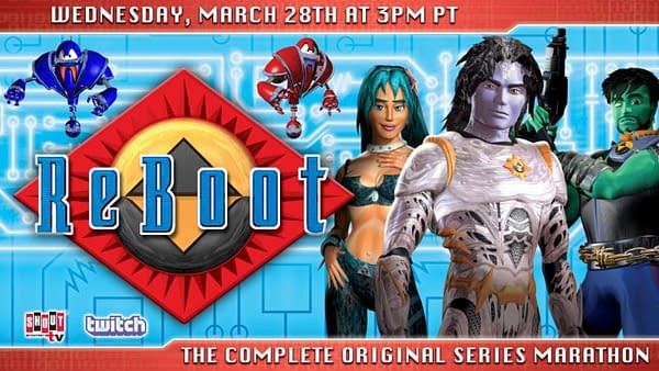 Twitch and Shout! Factory Partner for a ReBoot Marathon