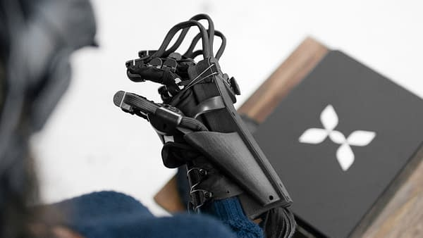 Check Out The Awesome Video Of A Haptx VR System In Action