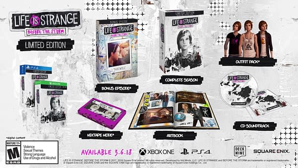 Life is Strange: Before the Storm Bonus Episode and Boxed Editions Available This Week