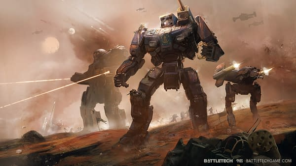 Battletech Angers Gamers by Providing a Gender Neutral Option