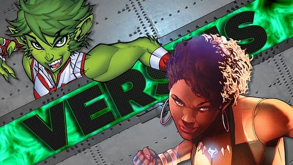Beast Boy Vs Vixen in Latest DC Versus Videos
