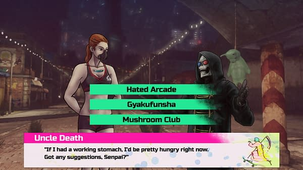 Grasshopper Manufacture's 'Let It Die' is Getting a Dating Sim Spinoff