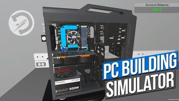 The PC Building Simulator has Sold 100,000 Copies
