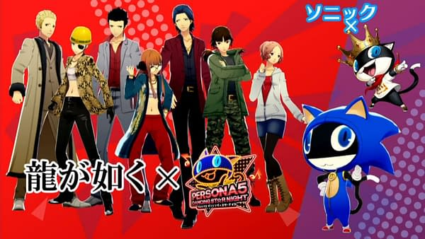 The Persona Dancing Games are Getting Yakuza, Sonic, and Virtua Fighter Costumes
