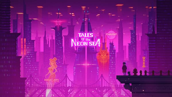 Doing Futuristic Detective Work in Tales of the Neon Sea