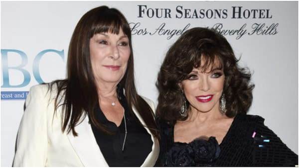 "American Horror Story Season 8: Ryan Murphy Adds Dynasty's Joan Collins, ""Interested"" in Anjelica Huston"