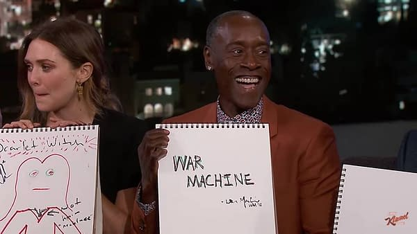 'Avengers: Infinity War' Cast Draws Their Characters On Jimmy Kimmel Live