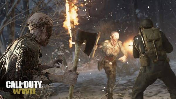 Call of Duty: WWII Announces Attack of the Undead Community Event