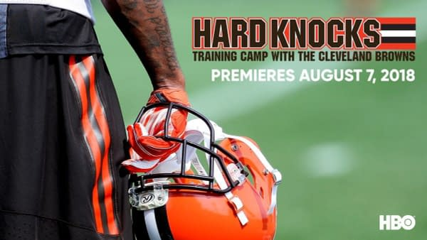 HBO Chooses the Cleveland Browns for the New Season of Hard Knocks