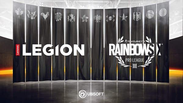 Lenovo Legion and Ubisoft Partner Up for Rainbow Six Siege Sponsorship